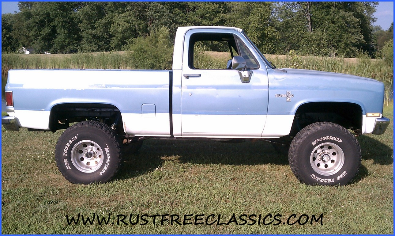 hight resolution of 73 87chevytrucks com 87 chevy k10 87 k10 short bed swb silverado fuel injected 6 inch lift